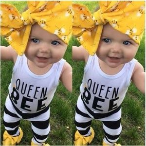 """Other - Boutique baby girl """"queen bee"""" 12, 18 mo"""